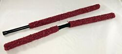 New Red Paintball Barrel Swab Cleaner Buffer Squeegee set Kit $12.25