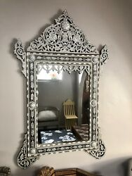 Syrian Mirror Mother of pearl inlay Mirror