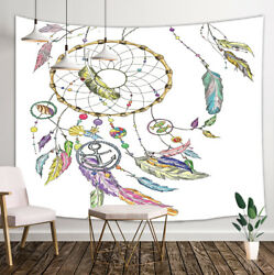 Colored Dreamcatcher Tapestry Wall Hanging Decor for Bedroom Living Room Dorm