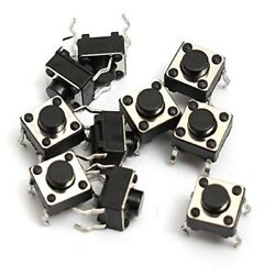 Tactile Switch Panel PCB Mount Momentary Switch Push Button for Arduino 6x6mm