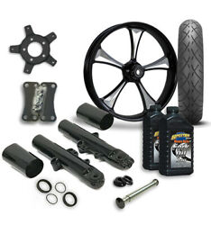 Rc 21 Clutch Wheel Tire And Complete Eclipse Front End Package Harley 14-19 Flh