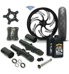 Rc 21 Assault Wheel Tire And Complete Eclipse Front End Package Harley 14-19 Flh