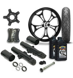 Rc 21 Holeshot Wheel Tire And Complete Eclipse Front End Package Harley 14-19 Flh