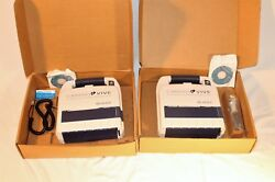 Two Burdick Cadio Vive Aed With Software One Manual + Good Batteries + Box
