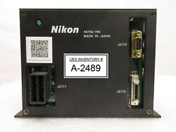 Nikon 4S782-766 ALCP Temperature Controller NSR-S204B Step-and-Repeat Used