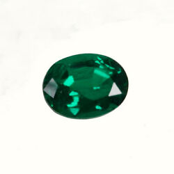 Certified 1.57 Ct Zambia Natural Emerald Oval 8.6x6.5 Loose Gemstone 185_video