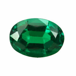 Certified 0.70ct Zambia Natural Emerald Oval 6.6 X 5.0 Loose Gemstone 243_video