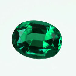 Certified 0.73ct Zambia Natural Emerald Oval 6.5 X 5 Loose Gemstone 246_video