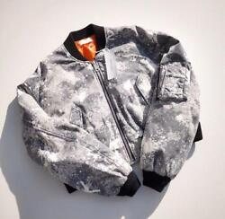 Neon Sign Bomber Jacket Slg Size M New Rare From Japan F/s