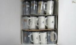 New Orleans Saints 24 Piece T-shirt In A Mug Combo With Display Case Ws 1