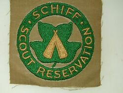 Vintage 1940-50's Era Boy Scouts Of America Schiff Scout Reservation Patch