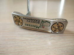 Scotty Cameron Limited 500 Masters 2017 Newport Collection Putter Head Cover