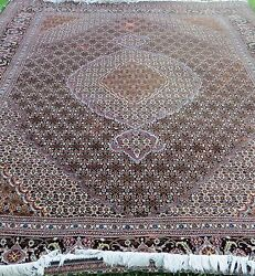 Persian Rug One of a Kind Multi-Color  Handmade  Size 116