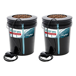 Active Aqua Root Spa 5 Ga. Hydroponic Bucket System Grow Kit 2 Pack  RS5GALSYS