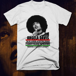 Angela Davis T Shirt Black History Month Panther Party Civil Rights New