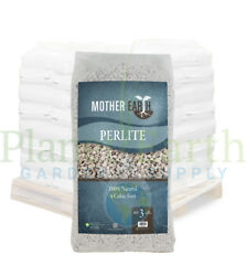 Mother Earth Perlite # 3 (4 cubic foot bags) in Bulk.  FREE SHIPPING