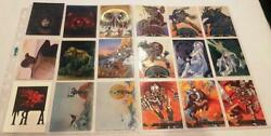 Fantasy And Comic Art Special Insert Trading Cards Choose From A Selection