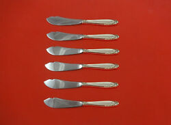 Prelude By International Sterling Silver Trout Knife Set Hhws 6pc Custom