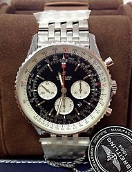 Breitling Navitimer 01 46mm AB012721 Black Dial BOX AND PAPERS 2018 UNWORN
