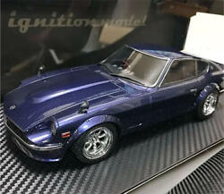 Kyosho Mini Car 1/18 Nissan Fairlady Z S30 Blue Limited Unused Rare From Japan