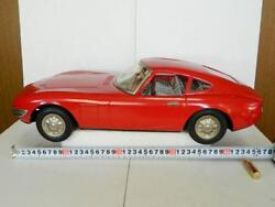 Tin Toy Nomura Diecast Toyota 2000gt Gt Japan Red Very Rare Collectible F/s