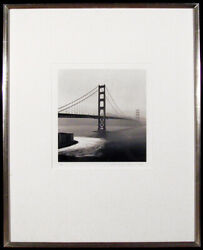 Michael Kenna Golden Gate Bridge Photograph Silver Print