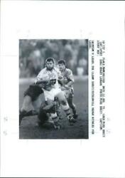 Heugh Cavill:The leeds substitute with cavill heugh. - Vintage photo