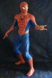 Spider Man Spiderman 11 Real Size Doll Statue 68.9inch 175cm Used