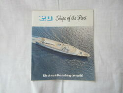 P And O Ships Of The Fleet And Deck Plans For The Ship Orsova June 1970