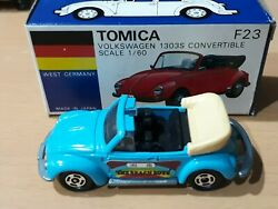 Tomica Tomy VW cabriolet convertible 1303S The Beach Boys Made in Japan Boxed