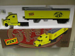 Kent Feeds Vision By Mack Semi W/ 48' Auger Trailer By First Gear 1/54th Scale