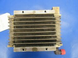 Beech C24r Stewart Warner Oil Cooler 169-380033 And 8432k Lycoming O-320 0219-55