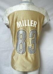 Pittsburgh Steelers Womens Size Small Heath Miller 83 Jersey A1 1454