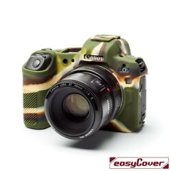 Easycover Armor Protective Silicone Skin For Canon Eos R Camouflage