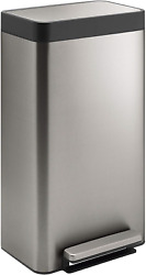 Kohler 20941-ST 8-Gallon Loft Stainless Step Trash Can Stainless Steel
