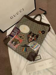 GUCCI x Courrier Waltz Backpack Knapsack Limited edition of 50 Rare From JAPAN