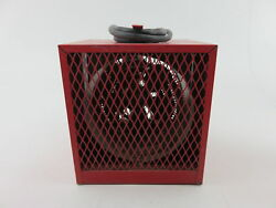 Marley 482A 240V 20.017.3A Built-in Thermostat Control Red Portable Unit Heater