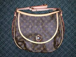 100% AUTHENTIC LOUIS VUITTON MONOGRAM TULUM GM SHOULDER CROSS BODY MESSENGER BAG