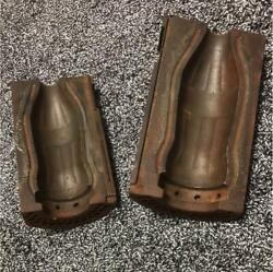 50 - 60and039s Vintage Coca Cola Bottle Mold Extremely Rare From Japan F/s