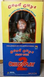 Childand039s Play 2 Toy Doll Good Guys Prop Size Figurine Figure 2002 Medicom Toy New