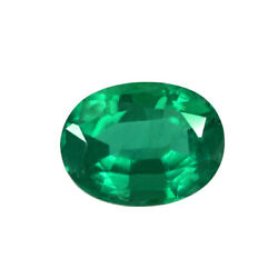 1.33 Ct Zambia Natural Emerald Oval Loose 8 X 6 Mm Gemstone 756_video