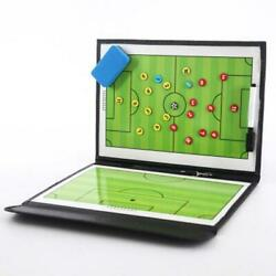 Foldable Magnetic Tactic Board Soccer Coaching Coach Tactical Board Football Gam