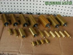 Huge Wholesale Lot Of Vishay Dale And Other Co. Electronics Power Resistors