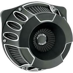Arlen Ness Air Cleaner Kit Dc Inv Blk 18-929 Fuel And A Air Filters