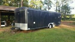 Ready to Work 8.5' x 24'  Pull Behind Used Street Food Concession Trailer Sale i