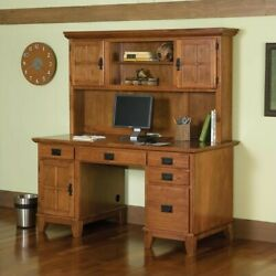 Home Styles Furniture Arts And Crafts Computer Desk With Hutch