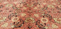 Exquisite Antique 1940-1950's Natural Dye Wool Pile High-end Hereke Rug 9x13ft