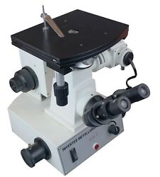 Radical 600x Inverted Metallurgical Non Ferrous Inspection Microscope W 5 Mp ...