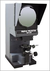 Radical Profile Projector Optical Comparator Inch/mm Digital Measuring Scales