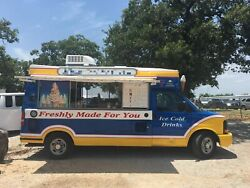 2012 Chevrolet Express 3500 Ice Cream  Slushie Truck for Sale in Texas!